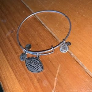 Alex and ani NY Giants bangle
